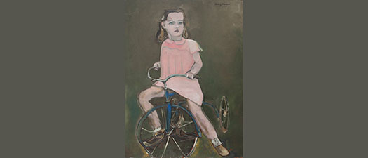 Jill on her Tricycle