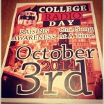 National College Radio Day Flyer