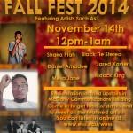Fall Fest 2014 Poster