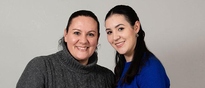 Maria & Victoria Cintron