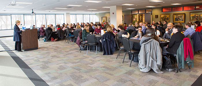 ESU Holds Annual Research, Scholarship, and Creative Activity Recognition Luncheon