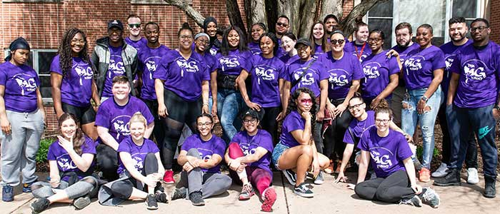 ESU Students Host The Big Event to Cleanup Neighborhood