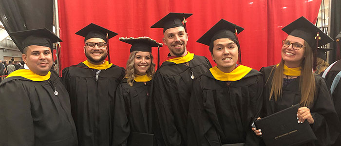 Athletic Training Graduates Spring 2019