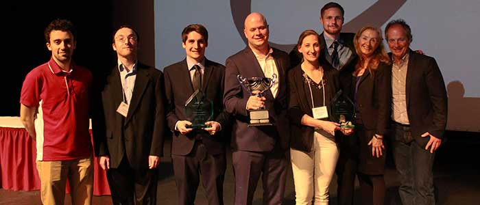 Faculty Take Top Honors at Regional Business Plan Competition