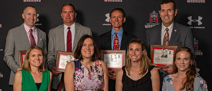 10 inductees into the Athletic Hall of Fame