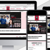 New Athletic website header image