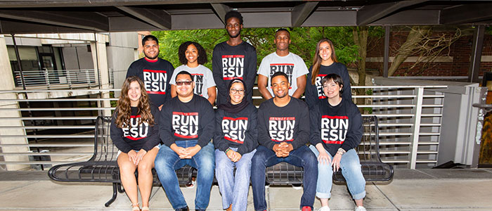 ESU Student Government leaders.