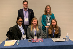 Senior Presents Research at Northeastern Political Science Association Annual Meeting