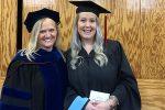 Dr. Carol Walker and Alumna Kelley Taylor