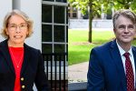 Elaine Shuey and Peter Pruim distinguished professors