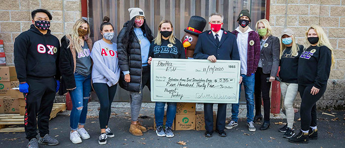 Panhellenic Council held its annual Project Turkey fundraiser