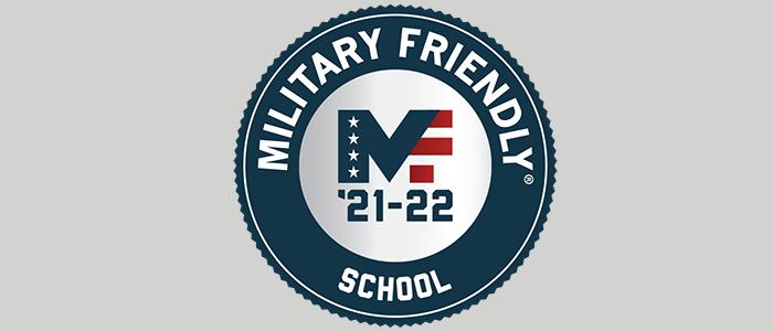 Military Friendly logo 2021-2022